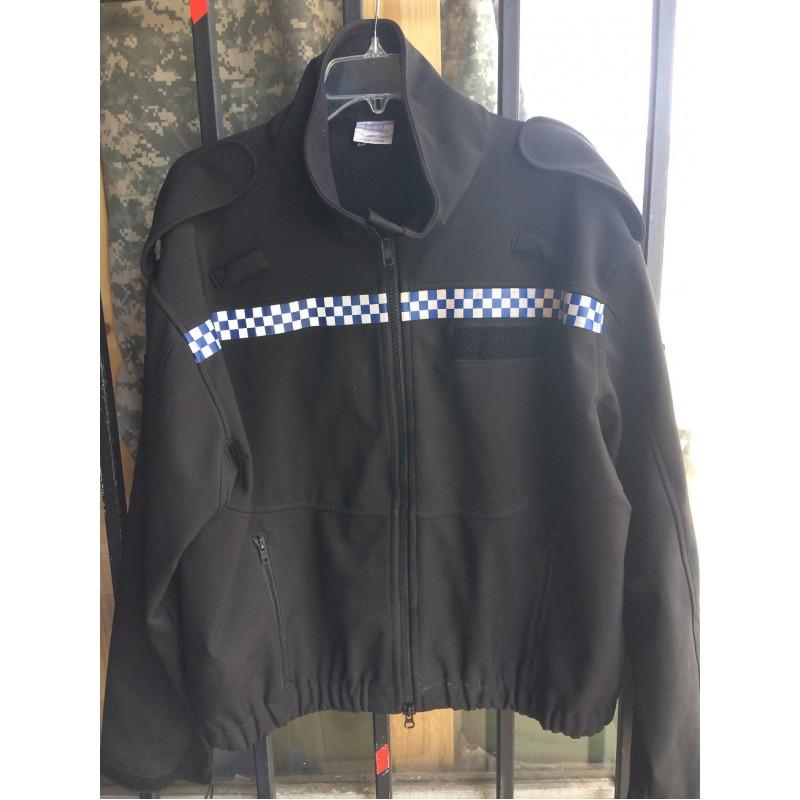 Bunda Britské Policie Softshell - černá
