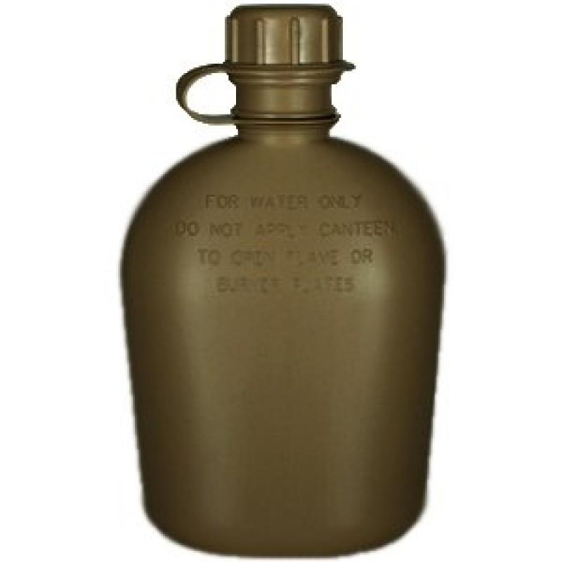 """Polní lahev US """"čutora"""" plastová olivová"""