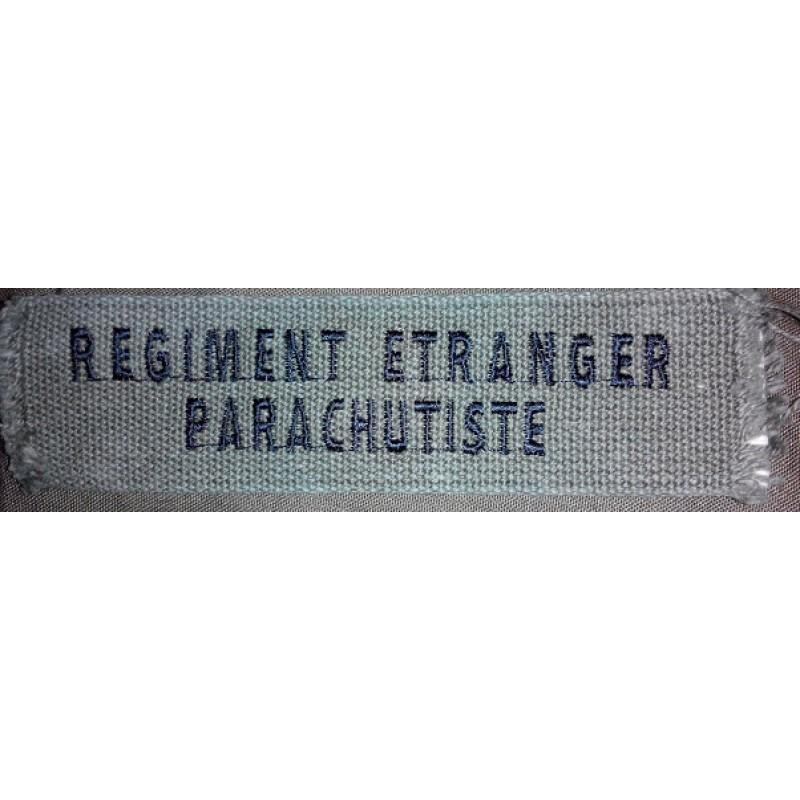 Nášivka Regiment Etranger Parachutiste