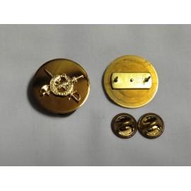 US odznak WW II DROIT ET AVANT Military Pin