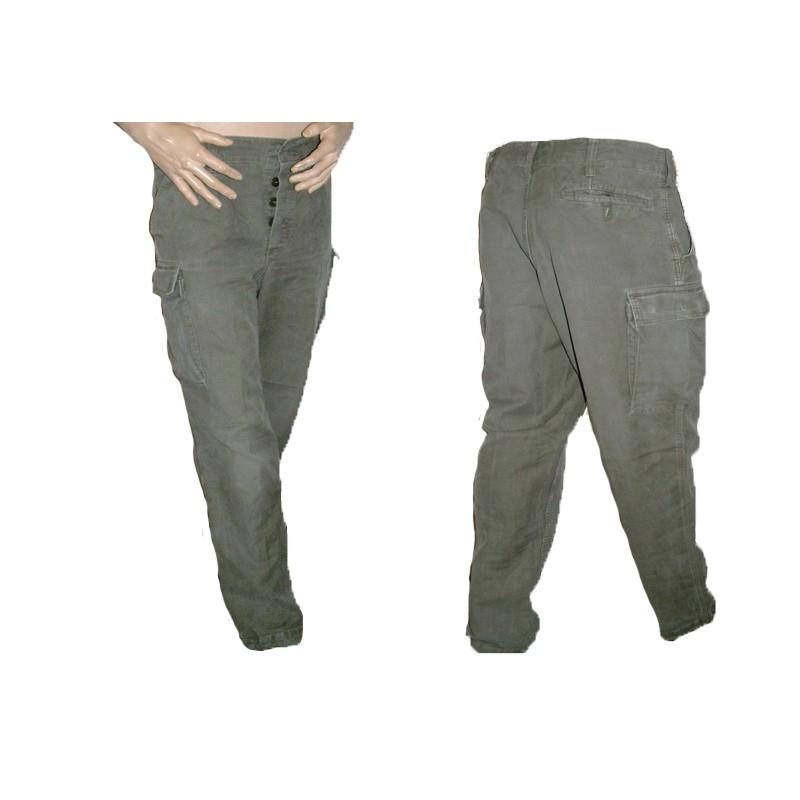 Kalhoty Bundeswehr moleskin - zelené