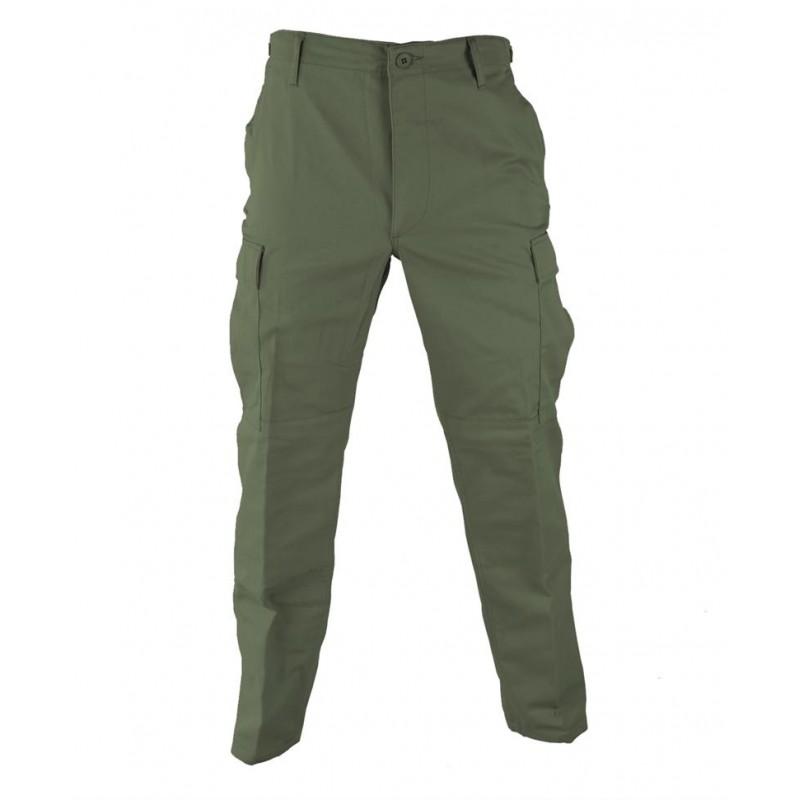 Kalhoty - BDU zelené