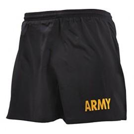 Kraťasy US - sportovní softshell ARMY