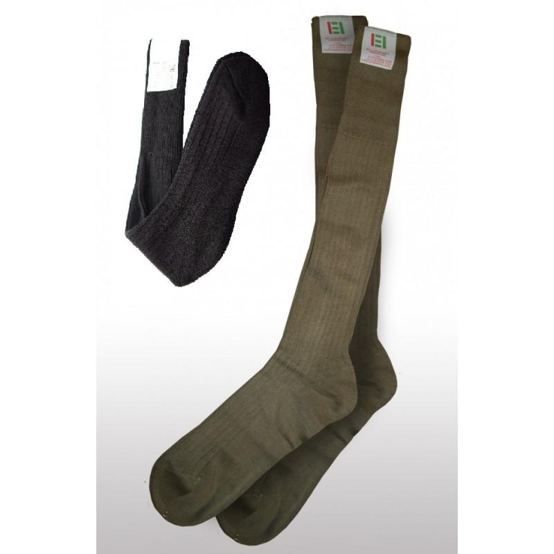 Ponožky / Podkolenky černé