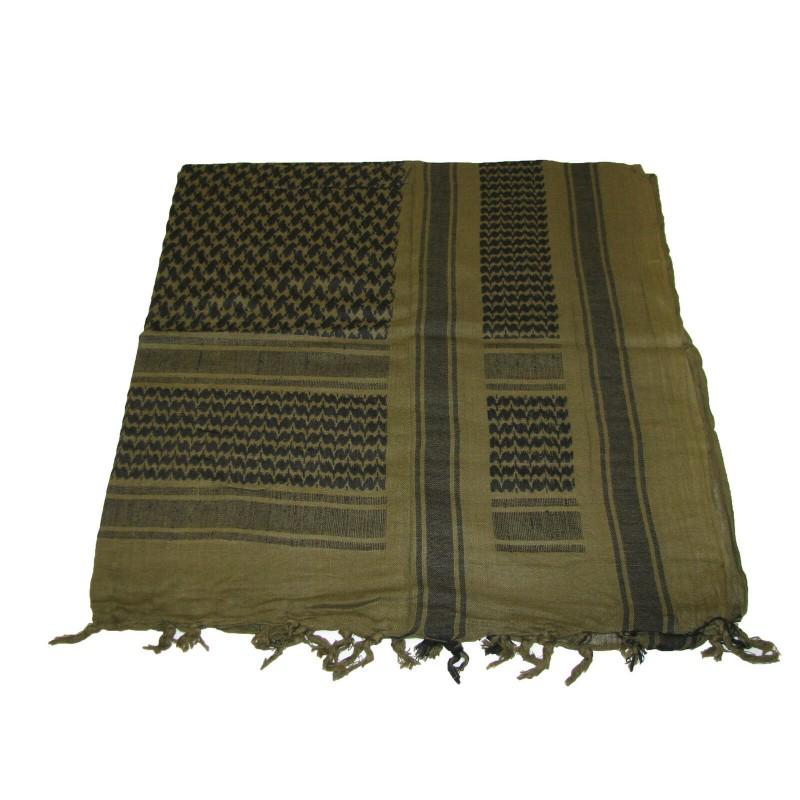 Šátek SHEMAGH Zelený