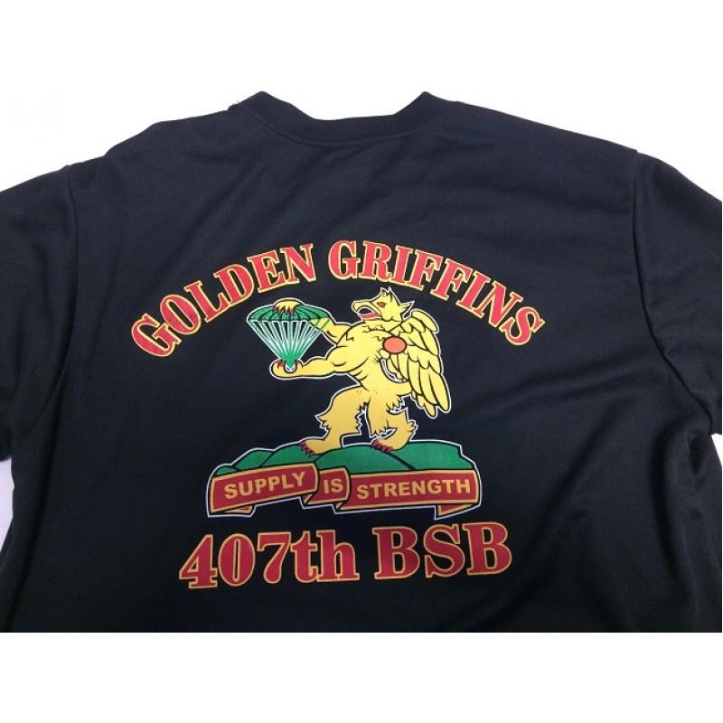 Triko AIRBORNE GOLDEN GRIFFINS funkční černé
