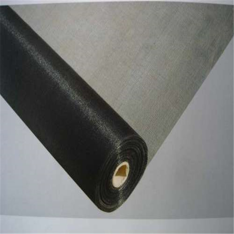 Role screening plastic coated fibers