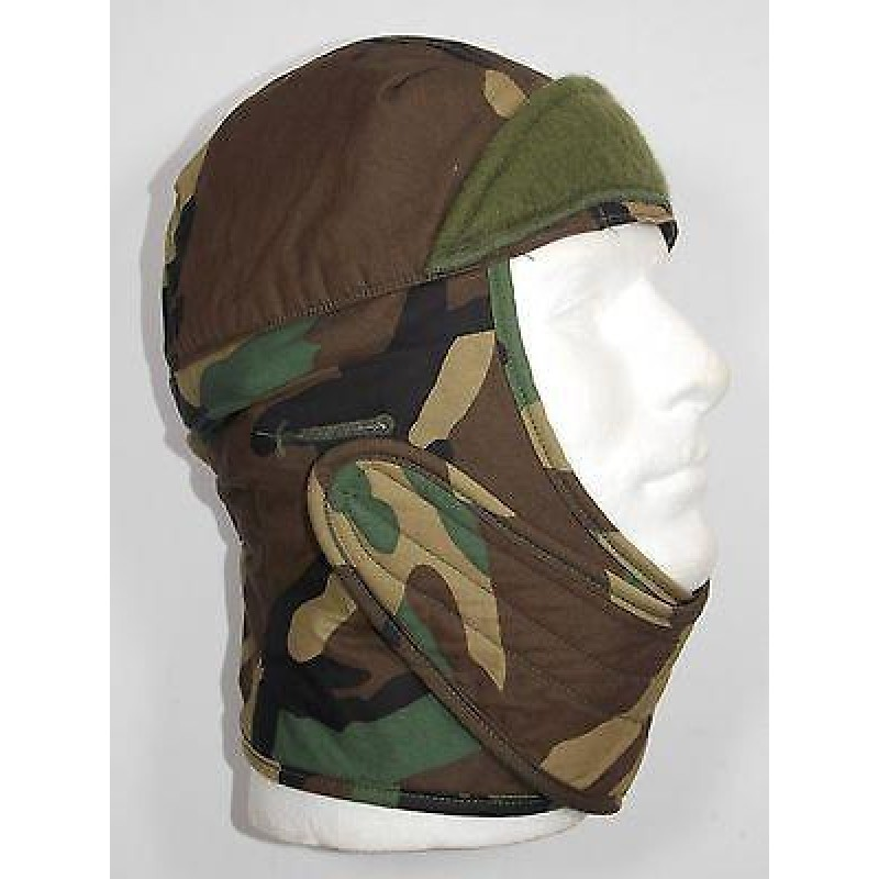 Balaclava Liner Cold Weather woodland