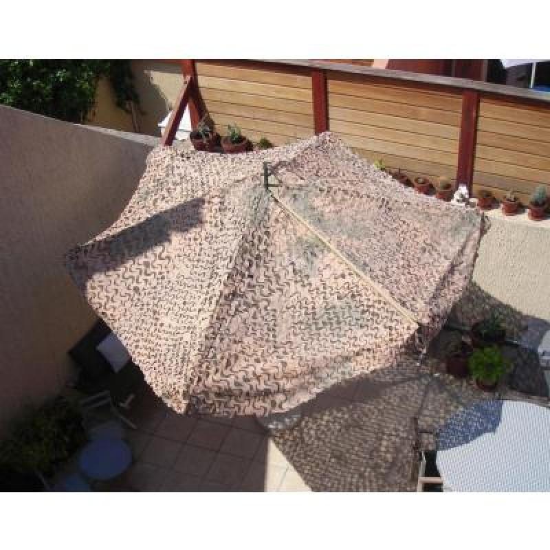 Maskovací deštník US - CAMOUFLAGE DESERT SOLSCONS UMBRELLA